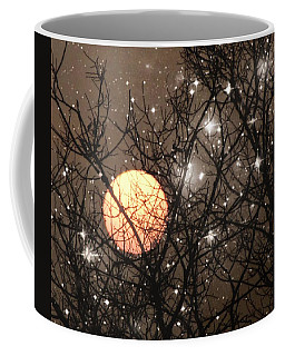 Full Moon Starry Night Coffee Mug