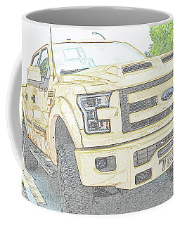 Coffee Mug featuring the photograph Full Sized Toy Truck by John Schneider
