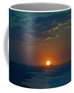 Coffee Mug featuring the photograph Full Sun Up by  Newwwman