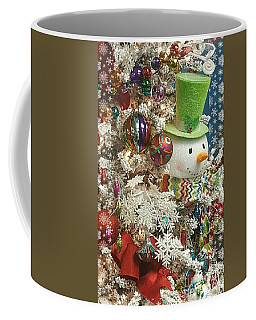 Fun Snowman Holiday Greeting Coffee Mug
