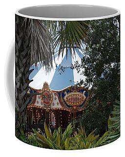 Coffee Mug featuring the photograph Fun Thru The Trees by Rob Hans