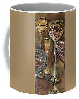 Fun Wine Glasses Coffee Mug