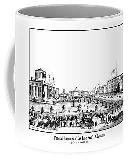 Funeral Obsequies Of President Lincoln Coffee Mug