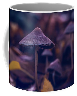 Coffee Mug featuring the photograph Fungi World by Gene Garnace