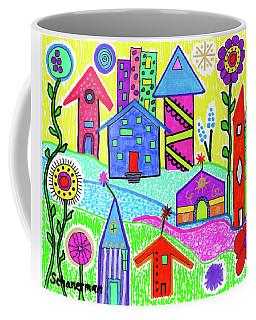 Funky Town 3 Coffee Mug