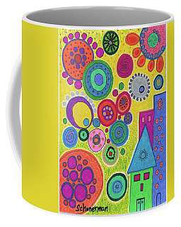 Funky Universe Coffee Mug