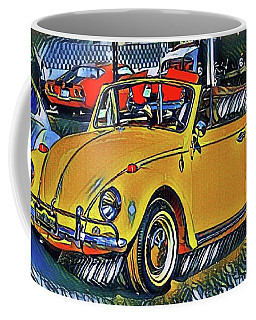 Coffee Mug featuring the photograph Funky Volky by The Art of Alice Terrill