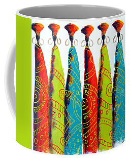 Funky Zulus Coffee Mug
