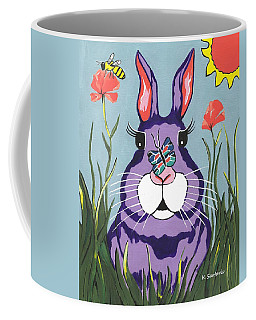 Funny Bunny - Happy Easter Coffee Mug