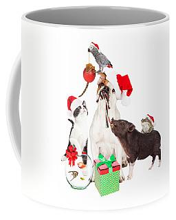 Funny Christmas Pet Compositie Coffee Mug