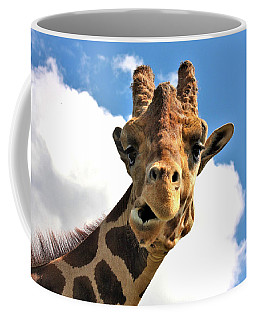 Funny Face Giraffe Coffee Mug