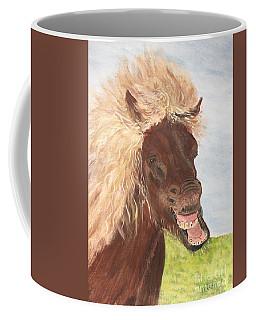 Funny Iceland Horse Coffee Mug
