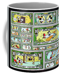 Funny Money Collage Coffee Mug