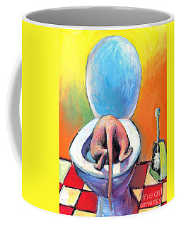 Funny Sphynx Cat Painting Prints Coffee Mug