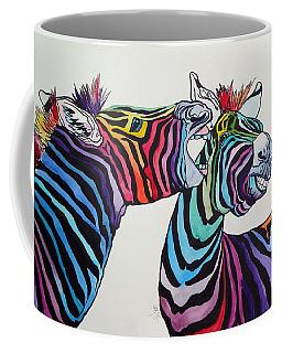 Funny Zebras Coffee Mug
