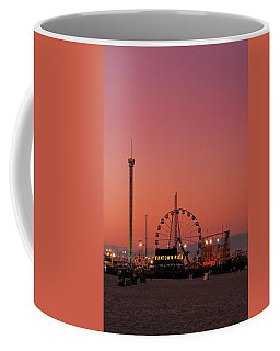 Funtown Pier At Sunset II - Jersey Shore Coffee Mug