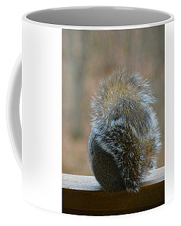 Coffee Mug featuring the photograph Fur Ball by SimplyCMB