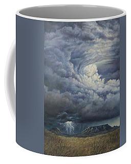 Fury Over Square Butte Coffee Mug