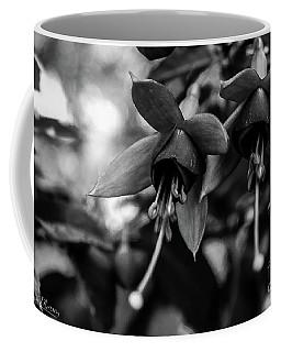 Fuchsia, Black And White Coffee Mug
