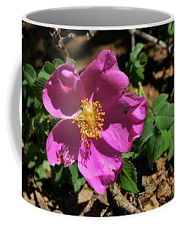 Coffee Mug featuring the photograph Fuschsia Mountain Accent by Ron Cline