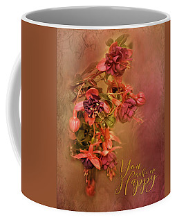 Fushia Bouquet Coffee Mug by TnBackroadsPhotos