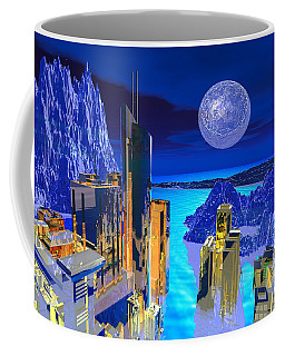 Futuristic City Coffee Mug