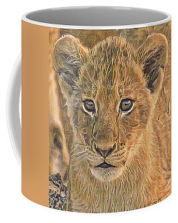 Fuzzy Cubby Coffee Mug