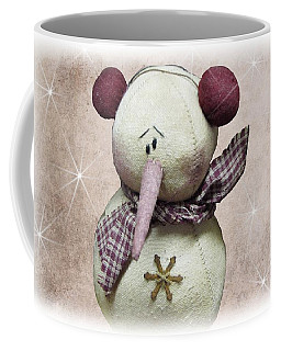 Fuzzy The Snowman Coffee Mug