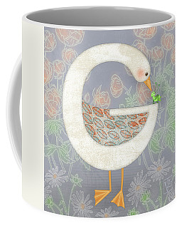 G Is For Goose And Grasshopper Coffee Mug