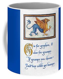G Is For Gryphon Coffee Mug