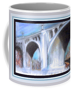 Coffee Mug featuring the photograph G W Bridge D C by Shirley Moravec