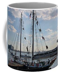 Gaffed Rigged Schooner Nyc Coffee Mug