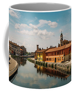 Gaggiano On The Naviglio Grande Canal, Italy Coffee Mug
