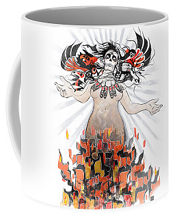 Gaia In Turmoil Coffee Mug
