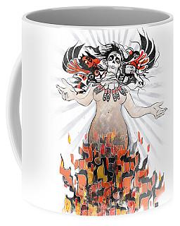 Gaia In Turmoil Coffee Mug