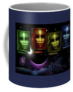 Gaia's  Seasons  Coffee Mug