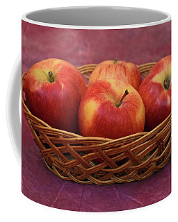 Gala Apple Basket Coffee Mug by Ray Shrewsberry