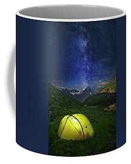 Galactic Eruption Coffee Mug