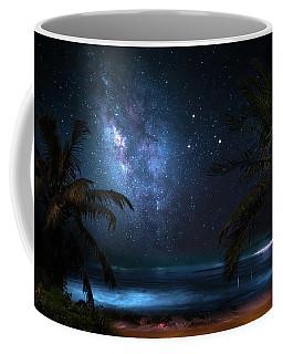 Galaxy Beach Coffee Mug by Mark Andrew Thomas