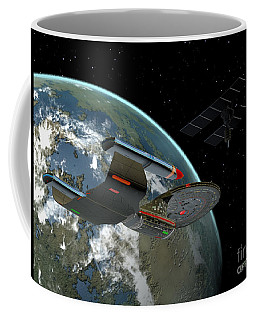 Galaxy Class Star Cruiser Coffee Mug
