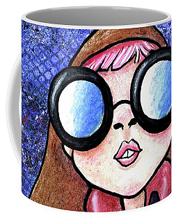 Galaxy Goggles Girl Coffee Mug