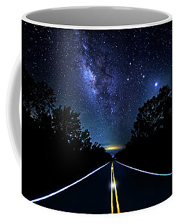 Coffee Mug featuring the photograph Galaxy Highway by Mark Andrew Thomas