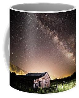 Galaxy In Star Valley Coffee Mug
