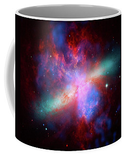 Coffee Mug featuring the photograph Galaxy M82 by Marco Oliveira