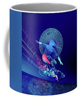 Galaxy Surfer 4 Coffee Mug