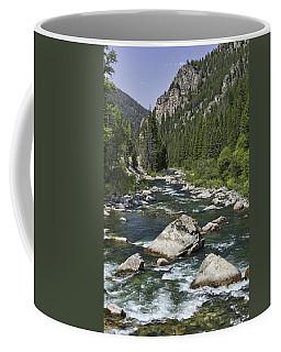 Gallatin River House Rock Coffee Mug