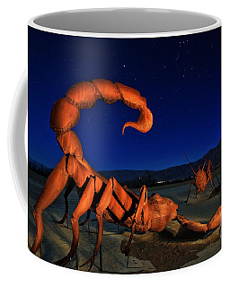 Galleta Meadows Estate Sculptures Borrego Springs Coffee Mug