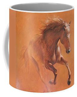 Gallop In The Desert Coffee Mug