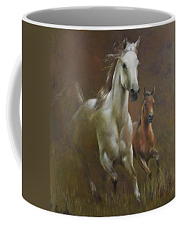 Gallop In The Eyelash Of The Morning Coffee Mug