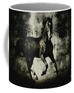 Galloping Horse Artwork Coffee Mug